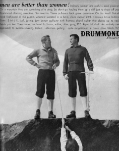 vintage ad mountain climbers cropped