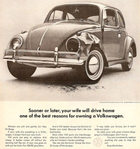 vintage ad nine vw
