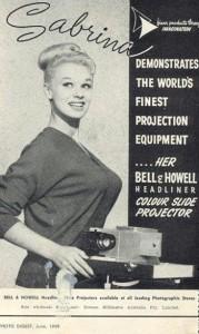 vintage ad twelve projector